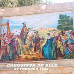 Castillo de Biar, Conquista año 1245
