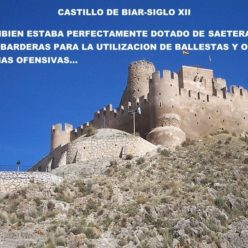 Castillo de Biar fotografías